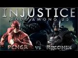 Injustice: Gods Among Us - The Flash VS Batmat [PC-HD]