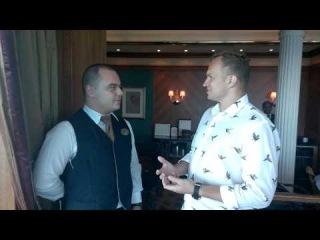 Интервью с профи-официантом круизного лайнера