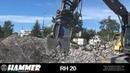 Hammer RH 20 вращающийся крашер дробилка