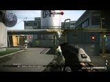 Играем с АК-47 со штыком на карте