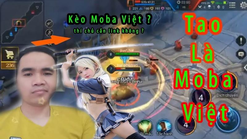 Kèo Moba Việt Fake Thử Thách Xóa Kênh | Solo Liên Quân Mobile Kết Cục Chặn Facebook