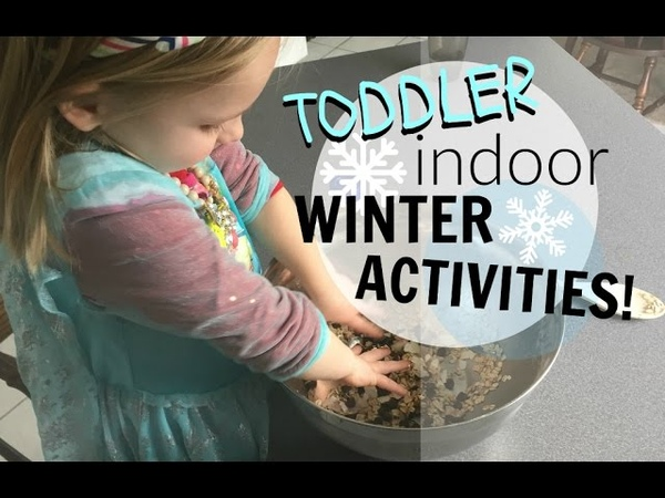 5 INDOOR WINTER ACTIVITIES FOR TODDLERS! | COLLAB WITH TEENY VLOGS