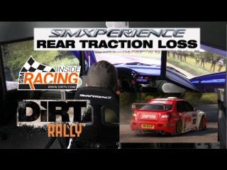 DiRT Rally With SimXperience Rear Traction Loss Demo