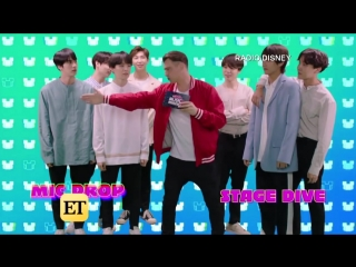 180607 Watch BTS Play a Hilarious Game of This or That @ Radio Disney Music Awards
