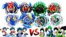 ALL VALKYRIES vs ALL KERBEUS -VALT vs KEN: Beyblade Burst Turbo Z Super Battleベイブレードバースト 超ゼツ