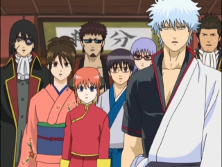 Гинтама  Gintama.1 сезон.50 серия (Shachiburi)