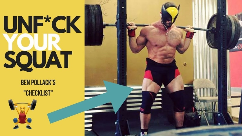 Ben Pollack Shares The Proper SQUAT Setup AVOID MISTAKES Mind Pump