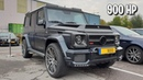 RARE One of Ten BRABUS G 900 Sound