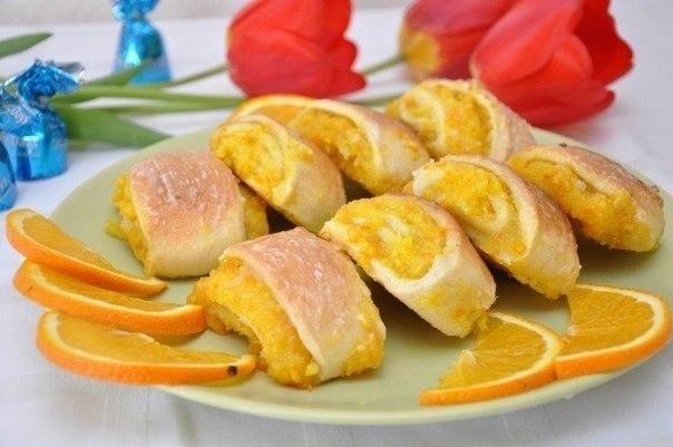 Мягкие апельсиновые печенья Ингредиенты: - мука 2 стакана - яйцо