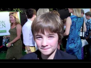 The Odd Life Of Timothy Green - Red Carpet Premiere - CJ Adams (Timothy Green)
