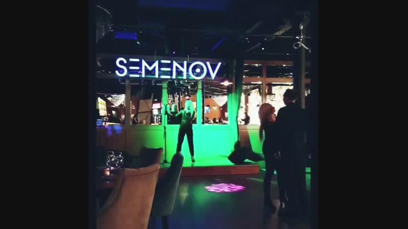Живая музыка в рестобаре Semenov Club