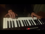 Korg R3. Toccata D-minor by P. S. from Les Morts