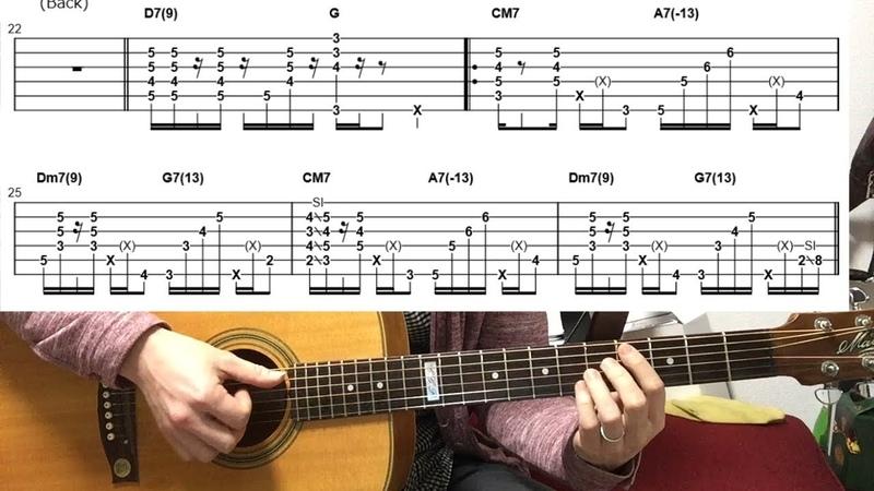 TAB付 解説 マリオのメインテーマ ギターデュオVer By龍藏Ryuzo