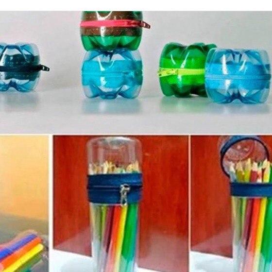 Что можно сделать из пластиковой бутылки своими руками для дома фото