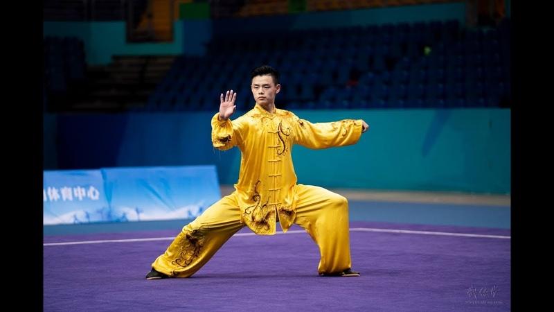 Men's Taijiquan 男子太极拳 第9名 解放军 杜奕鸿 9.61分 jie fang jun du yi hong