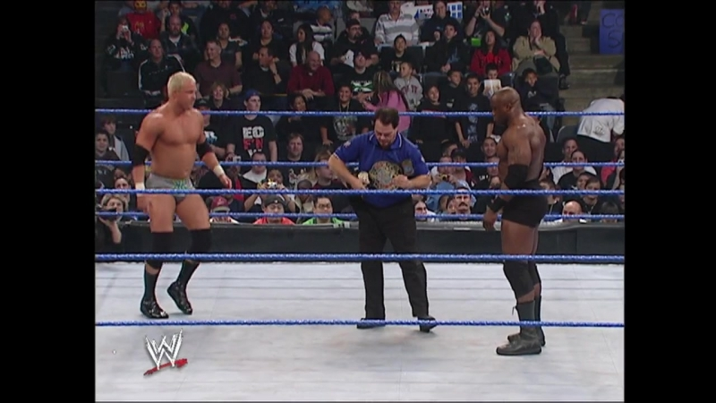 Bobby Lashley Vs Mr. Kennedy - ECW Championship - No Holds Barred Match - SmackDown 02.03.2007
