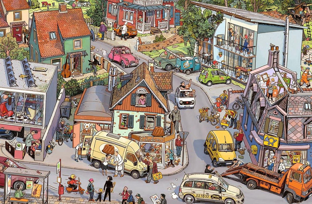 истории в картинках за городом