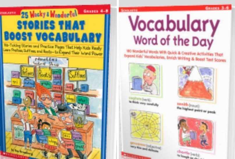 Another set of books for boosting your vocabulary