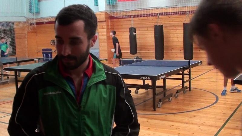 Турнир по нтеннису в Фаворите 09.12.2018г