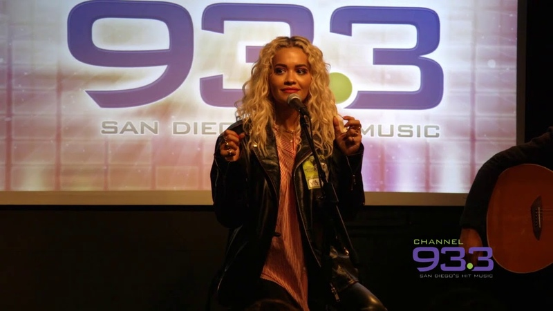Rita Ora talks new music and more at Channel 933 SDCCU Red Carpet Lounge