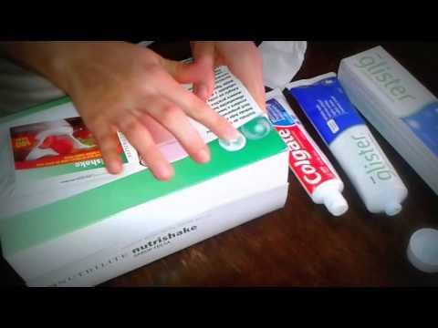 Demostración crema dental Glister !cuidado de los dientes!