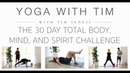 The 30 Day Total Body Yoga Workout Challenge I Body Mind Spirit