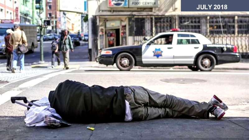 San Francisco Homeless Mecca - and getting worse