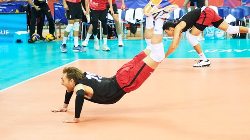 TOP 50 Legendary Volleyball Saves Digs Volleyball Nations League 2018