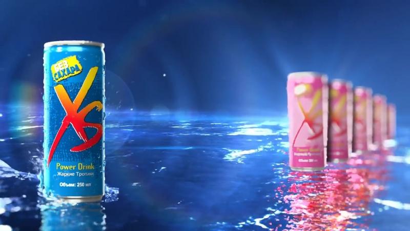 Тонизирующий напиток XS Power Drink