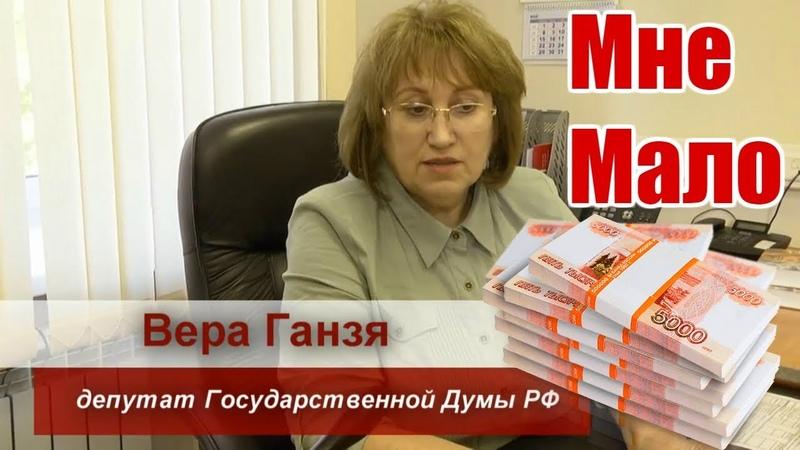 Депутат Госдумы с зарплатой 380 тысяч рублей пожаловалась на нехватку денег