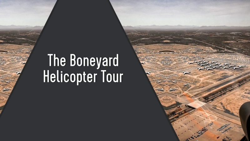 The Boneyard (AMARG) Tour in Tucson, Arizona   Volare Helicopters