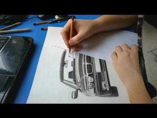 Рисунок BMW 750I