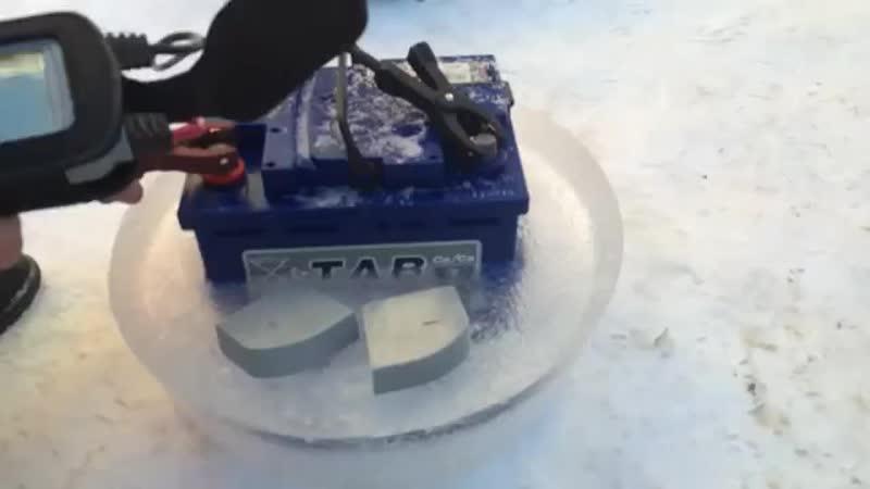 На что способен замороженный аккумулятор TAB (1).mp4