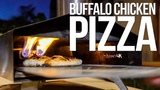 The Best Buffalo Chicken Pizza SAM THE COOKING GUY 4K