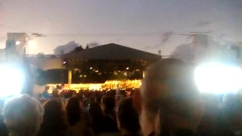 300лет омскуконцерт под открытым небом4 августа 2016г