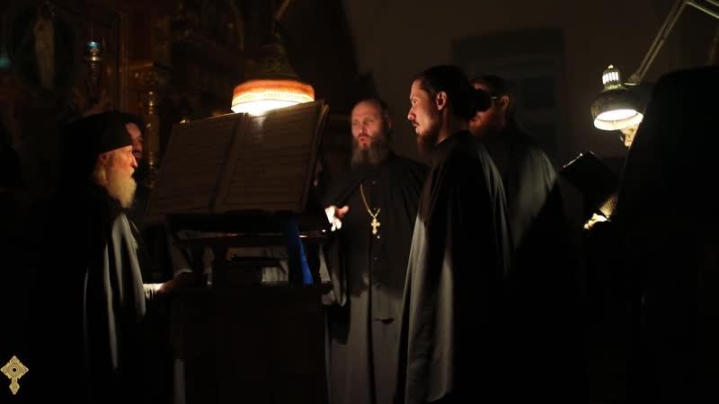 Хор братии Валаамского монастыря - Душе моя (кондак канона св А.Критского)