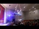 Юные гимнастки под куполом рДНТ