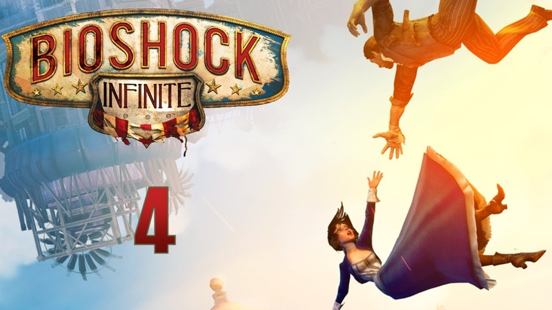 BioShock Infinite прохождение с Карном Часть 4