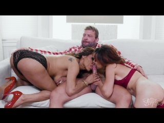 [transangels] jessy dubai, natalie mars & cytherea - the family friend with benefits: part 1 [2018, 3some, shemale, 1080p]