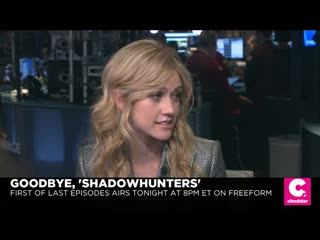 Katherine's interview for cheddar.com