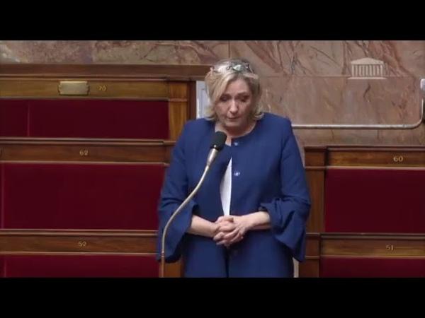 MARINE LE PEN ALERTE LE GOUVERNEMENT SUR LE NIVEAU EFFRAYANT DE LA DELINQUANCE !
