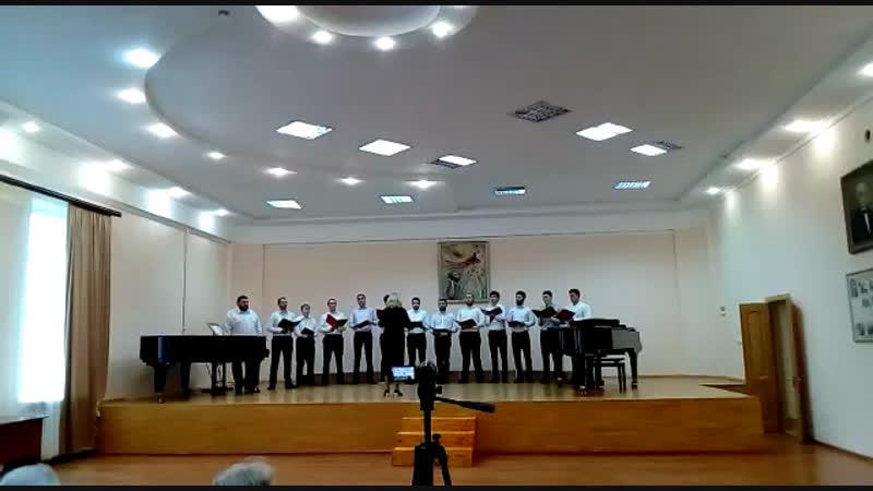 Мужской хор Хосдзаута ВКИ им Гергиева