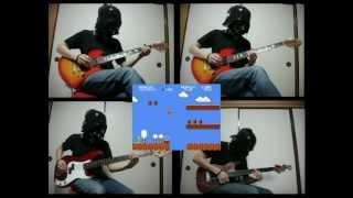 【多重録音】ギターでマリオメドレー Super Mario Bros.Guitar Multitrack
