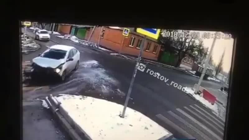 ДТП на перекрестке Белорусская_Днепровский. 09.12.18