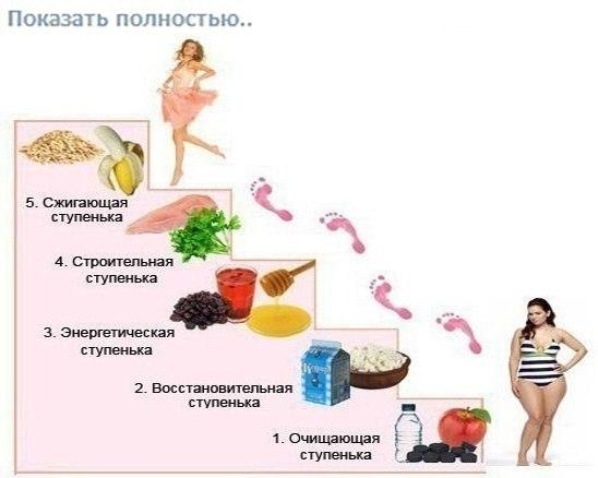 5 дневная диета лесенка отзывы рецепты для кремлевской диеты первые две недели