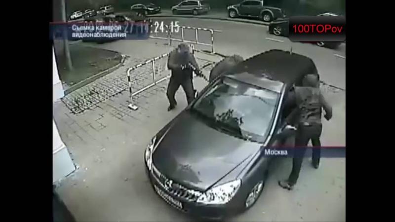 Топ дерзких грабежей снятых на камеру