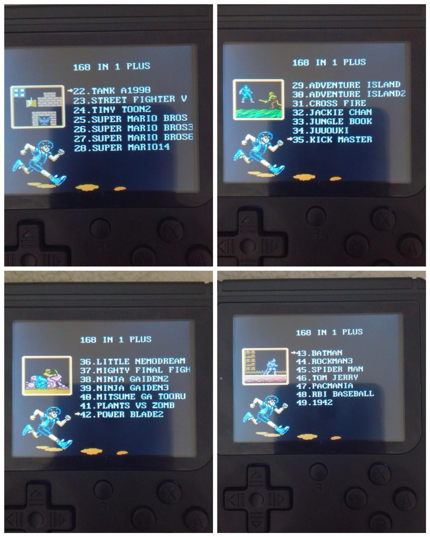 список игр 2