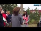 В Ноябрьске встретили победительницу конкурса Педагогическии