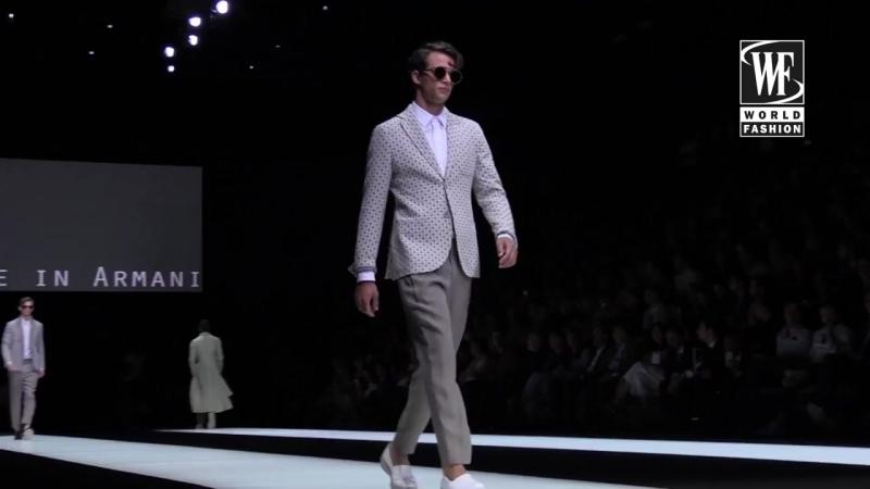 Giorgio Armani Весна-Лето 2018 Неделя Мужской Моды в Милане