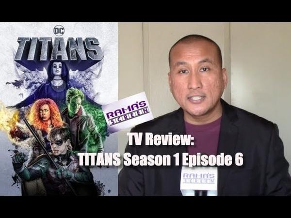 My Review of DC Universe 'TITANS Season 1 Episode 6 Jason Todd
